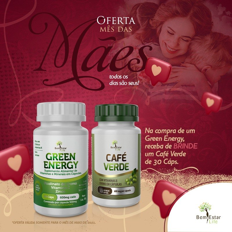 KIT GREEN ENERGY + CAFÉ VERDE